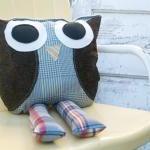 Rufus Owl Pillow